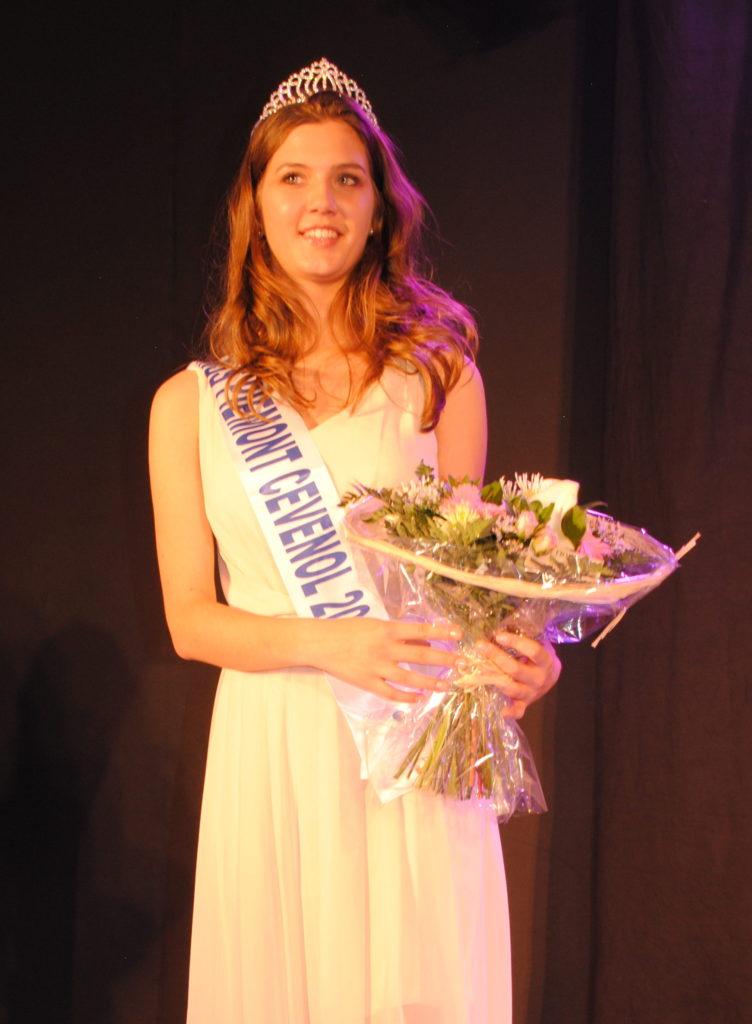 Miss Piémont Cévenol 2018<br/> Marine Debondue