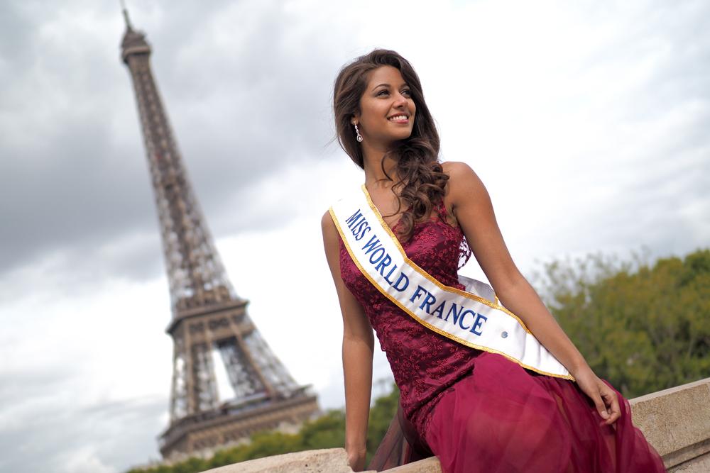 Aurore Kichenin, dauphine du concours Miss Monde 2017