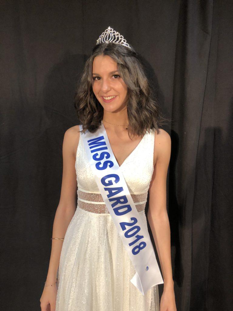 Miss Gard 2018<br/> Pauline Benoit