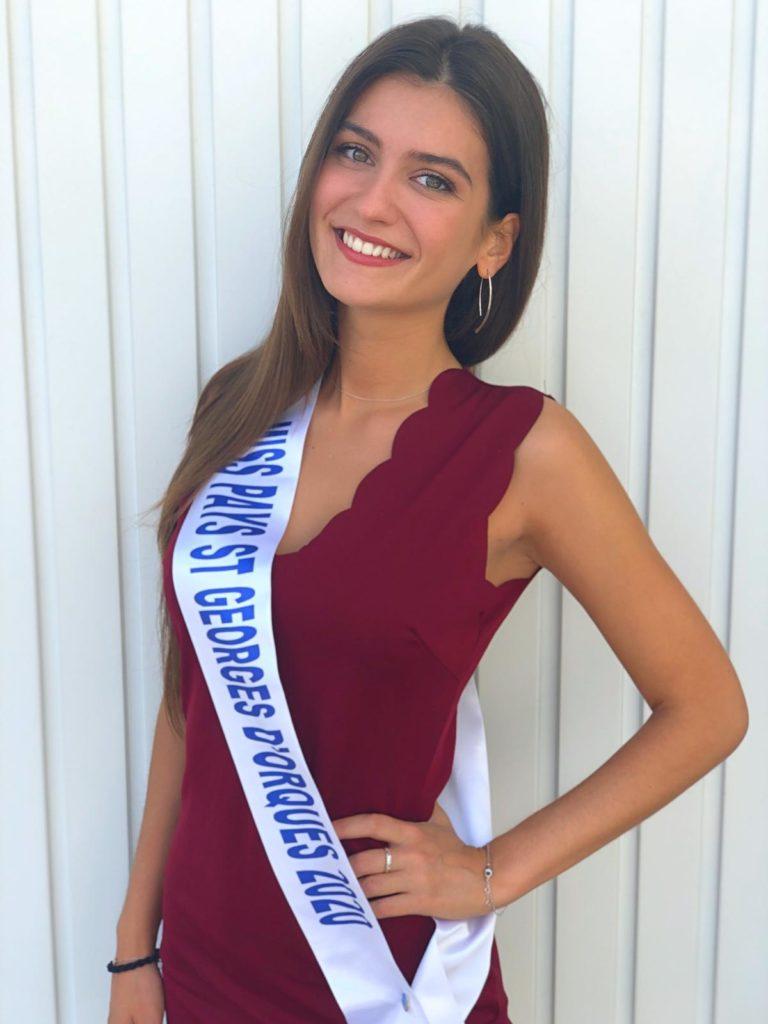 Miss Pays Saint-Georges d'Orques 2020 <br/> Alice Martineau