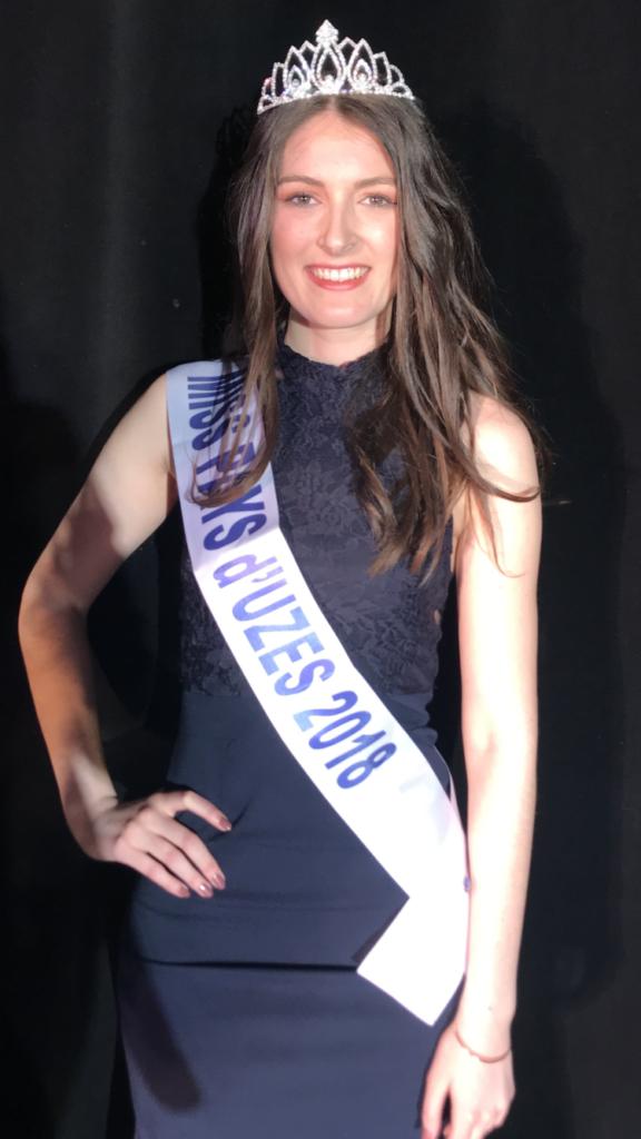 Miss Pays d&rsquo;Uzès 2018 <br/> Chloé Ricordi