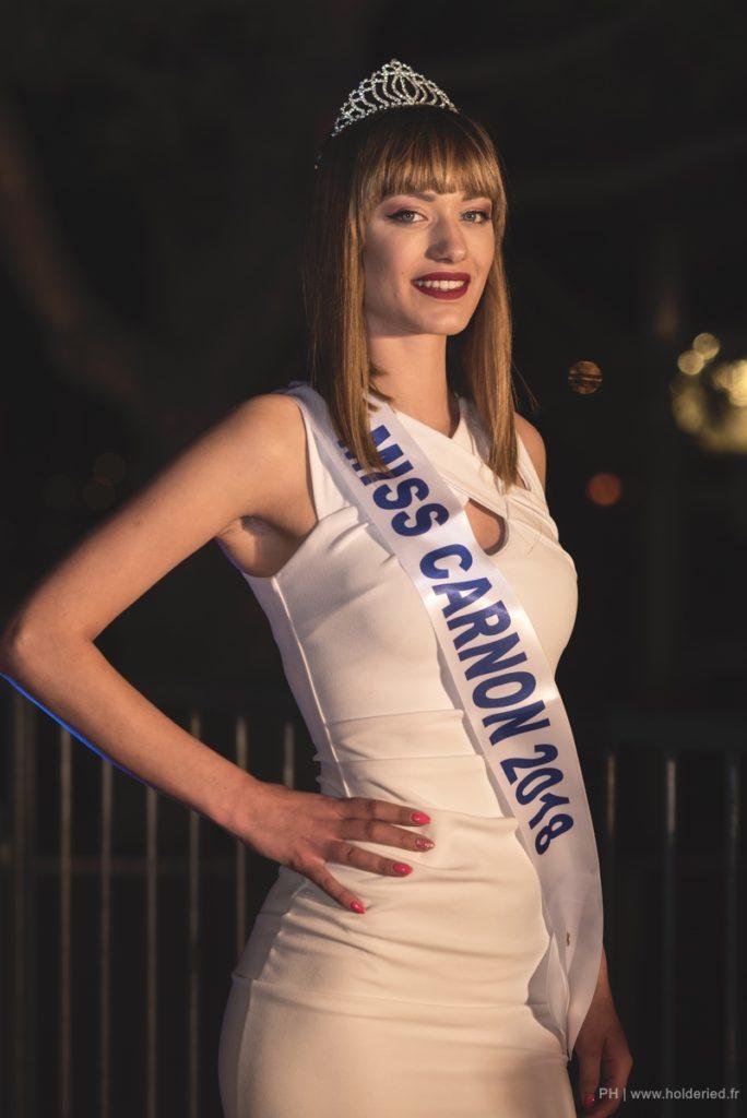 Miss Carnon 2018 <br/> Laurine Demaison