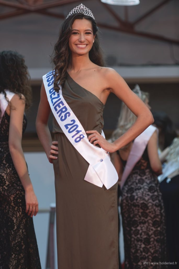 Miss Béziers 2018 <br/> Coline Vayssiere