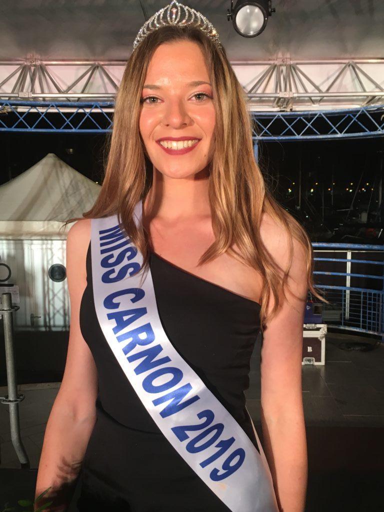 Miss Carnon 2019 <br/> Ambre Alicarte