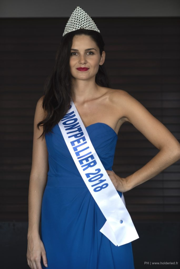 Miss Montpellier 2018 <br/> Amandine Jost