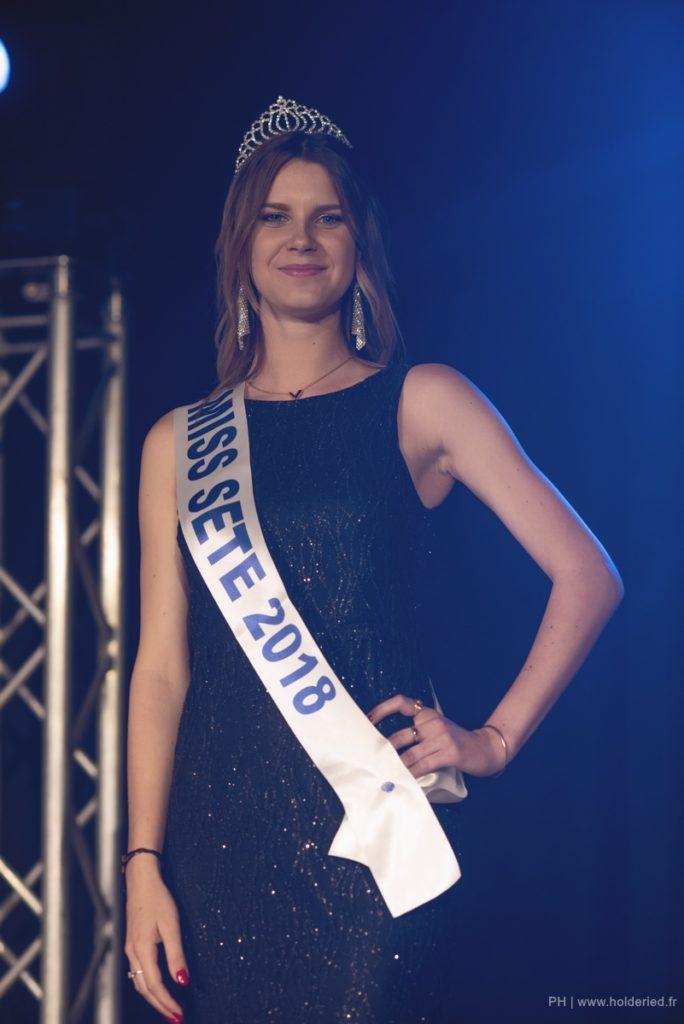 Miss Sète 2018 <br/> Margaux Marin