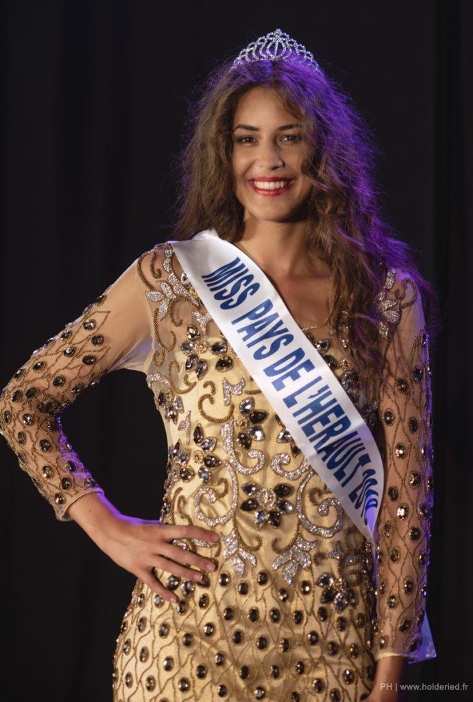 Miss Pays de l&rsquo;Hérault 2018 <br/> Marianne Ferret