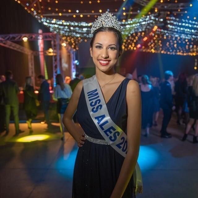Miss Alès 2020<br/> Cloé Meunier