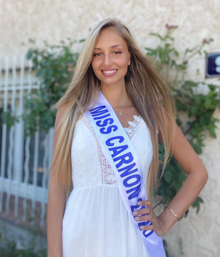 Miss Carnon 2020 <br/> Noémie Besson
