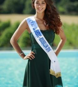 Aurore Kichenin (Miss Languedoc-Roussillon 2016)