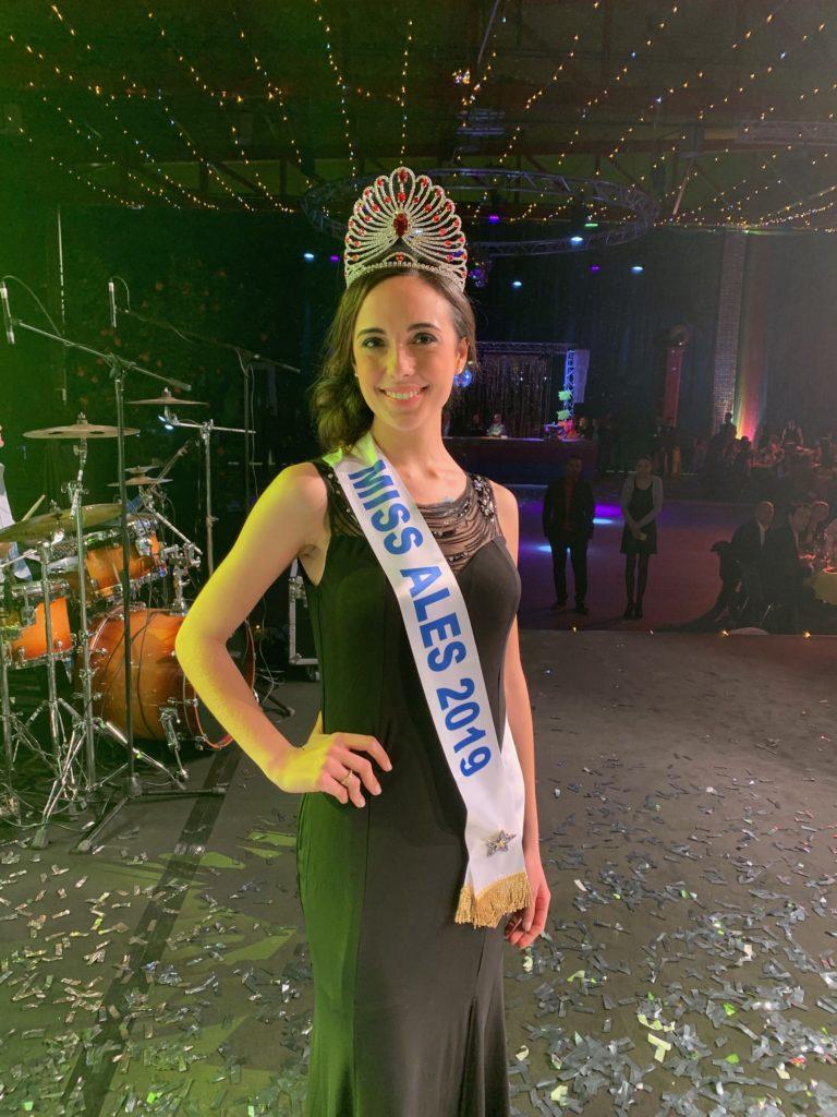Miss Alès 2019<br/> Lucie Dalle Palle