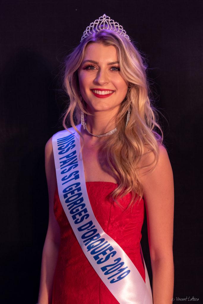 Miss Pays Saint-Georges d&rsquo;Orques 2019 <br/> Manon Aubriot