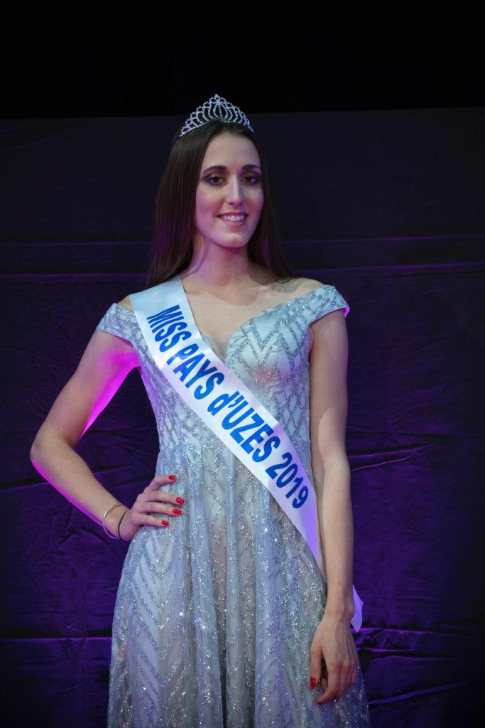 Miss Pays d&rsquo;Uzès 2019 <br/> Anne-Fleur Desonnay
