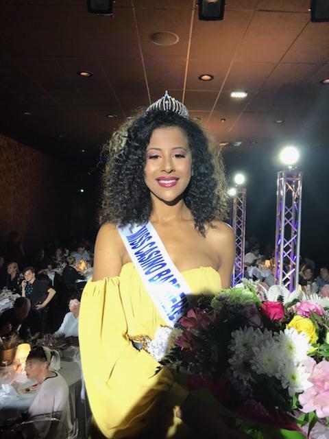 Miss Casino Barrière Cap d&rsquo;Agde 2019<br/> Myriam Bouchark
